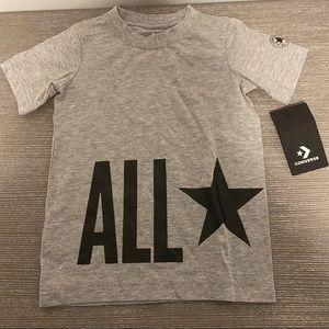 NWT Grey Converse All Star T shirt